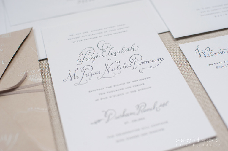 Martha Stewart Weddings | Wedding Calligraphy